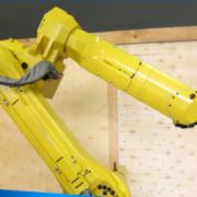 气动工具部件加工工业机器人