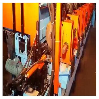 全自动切多头切管机 切镀锌脚手架管连切1500刀不用换锯片