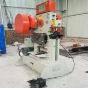 厂家小型角钢冲切机 槽钢型材冲孔剪切机 联合机械多功能冲剪机