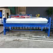供应深圳通风管道成型设备机械 辘骨机 折边机