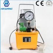 超高压油泵 脚踏 单回 单作用 ZCB6-5-A3电磁阀液压电动泵