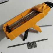 厂家直销 真瓷胶枪 双管助力胶枪 双组份液压胶枪 美缝工具清洁刀