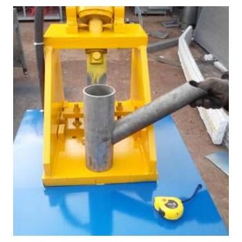 提供全新液压切弧口机 厚壁管 镀锌管切弧口机 立式高速冲床