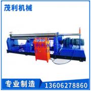 热销供应 对称式机械三辊卷板机 大型高效立式金属卷板机