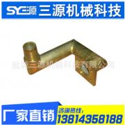 厂家直销耐高压耐油镀锌带接头液压硬管总成