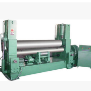 W11Y万能液压三辊卷板机、W11X水平下调卷板机