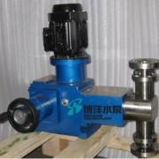 J-X型柱塞式计量泵 工博牌柱塞式计量泵 不锈钢法兰连接柱塞泵
