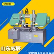 全新供应GZ4240金属数控带锯床 龙门 双立柱数控锯床 质量可靠