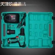 东成 充电式起子电钻09-10A DCA电动工具 双电充电式手枪钻 12V