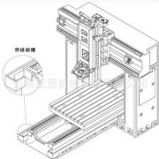 【直销】云南台正光机 数控龙门铣床 龙门加工中心TOM-SP1820B